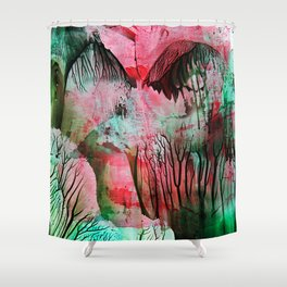 CherryBlossom Shower Curtain