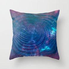 Galactic Hub Throw Pillow