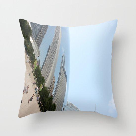 Distort Throw Pillow