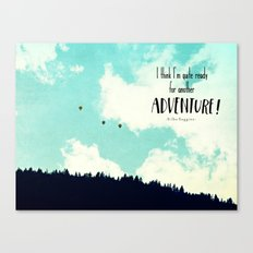 Another Adventure Canvas Print