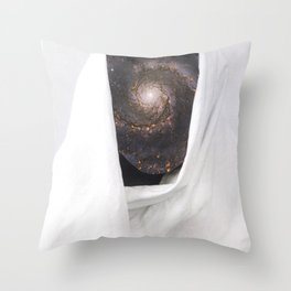 Raw Flakes Collages - untitled 110 Throw Pillow
