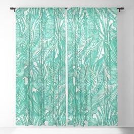 Cactus Jungle Sheer Curtain
