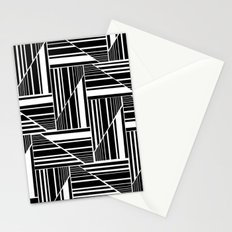 STRIPED PATCHWORK Stationery Cards