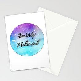 'Heavily Meditated' Stationery Cards