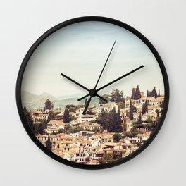 Albaycin Wall Clock