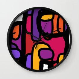 Among Us - Sunset Color Way Wall Clock