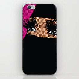 BLUE EYES. iPhone Skin