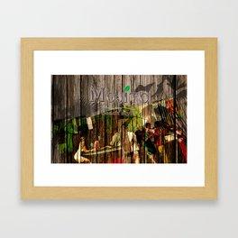 mojito beach style - barplace Framed Art Print