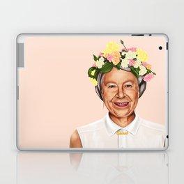 Hipstory - Queen Elizabeth Laptop & iPad Skin
