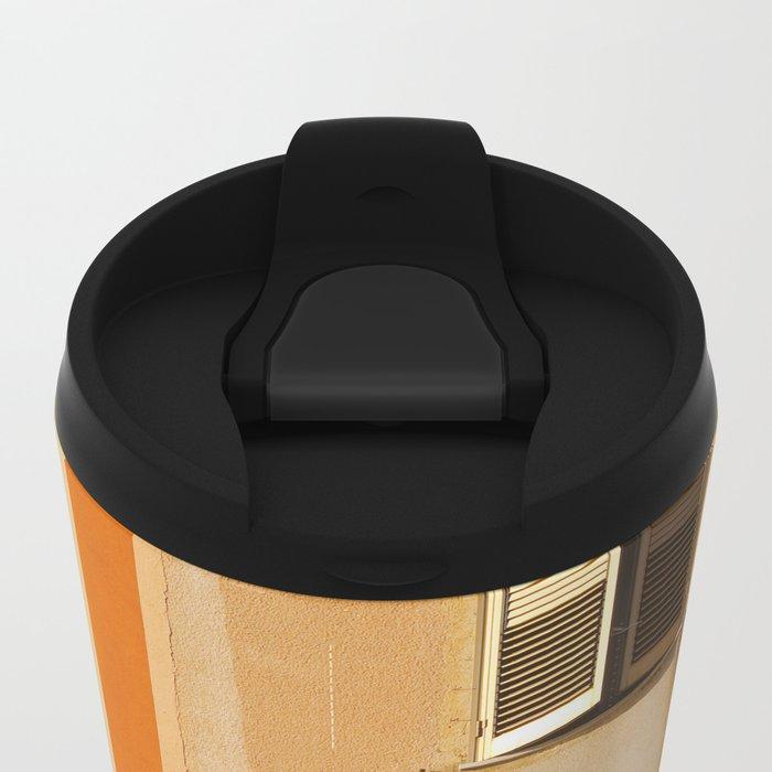 Open Window Metal Travel Mug