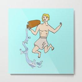 Aquarius the living water Metal Print