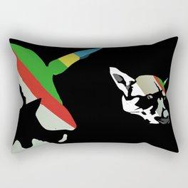 Fossil Dog Rectangular Pillow
