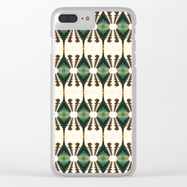 Lamp Posts Reflection Clear iPhone Case