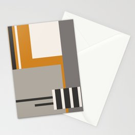 PLUGGED INTO LIFE (abstract geometric) Stationery Cards