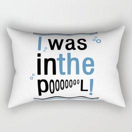 Inthepool Rectangular Pillow