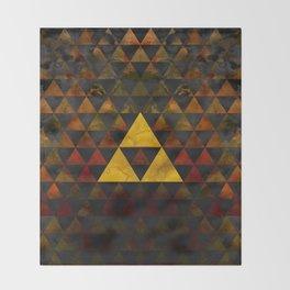 Ganondorf Geometry Throw Blanket
