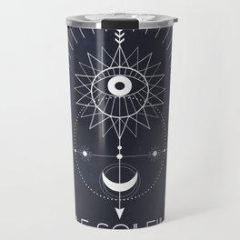 Le Soleil or The Sun Tarot Travel Mug