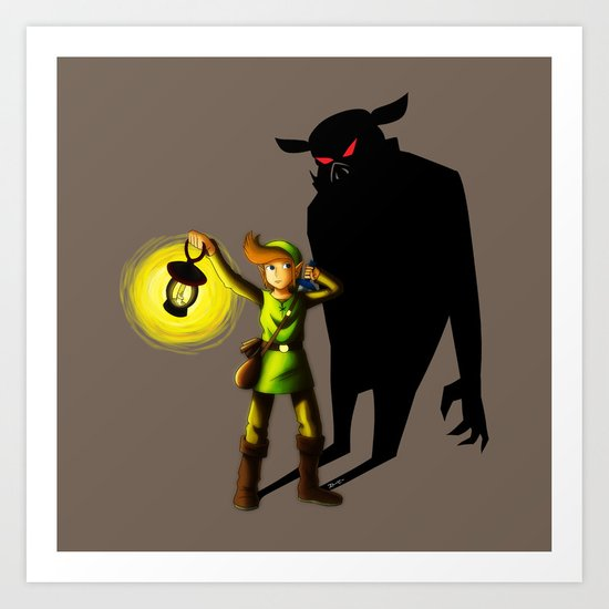 The Hero's Lantern Art Print
