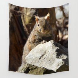 Cute Squirrel by Teresa Thompson Wall Tapestry