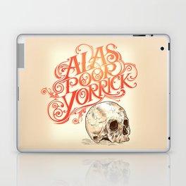 Hamlet Skull Laptop & iPad Skin