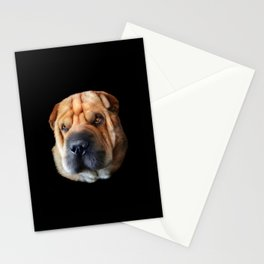 Shar Pei Stationery Cards
