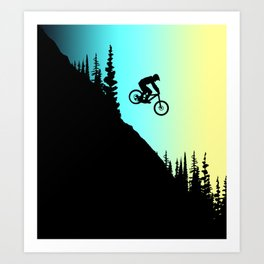 MTB Colors Art Print
