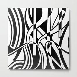 smoothed confusion Metal Print