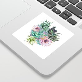 Succulent Bouquet Sticker
