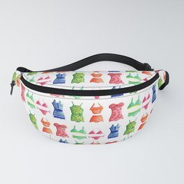 Evolution of the swimsuit pattern Fanny Pack