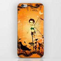 Cute fairy  iPhone & iPod Skin