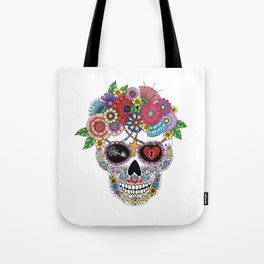 Lost Love WHITE Tote Bag