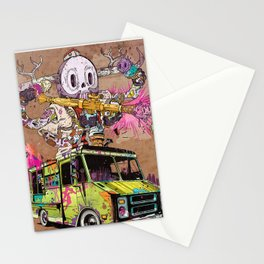 Pusher Carcophagus Stationery Cards