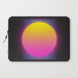 Retro 80's Neon Sunrise Laptop Sleeve