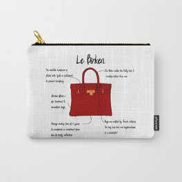 Anatomy of a Birkin Bag Carry-All Pouch