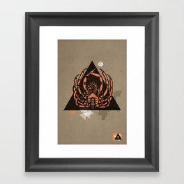Seafood Delight Framed Art Print