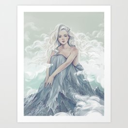 In the Harmony with world Art Print
