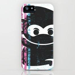 Ninja Monkey iPhone Case