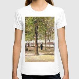 Lane at the Jardin du Luxembourg Garden by Vincent van Gogh T-shirt