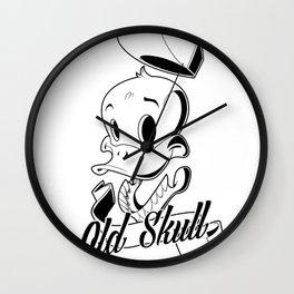 OldSkull Wall Clock