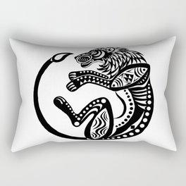 Afro Lion Rectangular Pillow