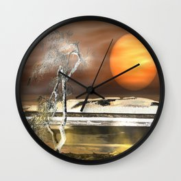 Light Effect Wall Clock