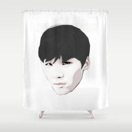 Idol Shower Curtain