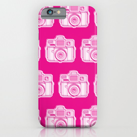 I Still Shoot Film Holga Logo - Reversed Pink iPhone & iPod Case