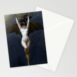 THE BAT WOMAN - ALBERT JOSEPH PENOT Stationery Cards