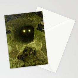 Black Cat Dancing Stationery Cards