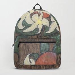 Florida Citrus Farmhouse Orange Blossom Backpack