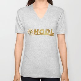 Bitcoin Hodl (Hold) Unisex V-Neck
