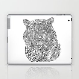 The power of the tiger Laptop & iPad Skin