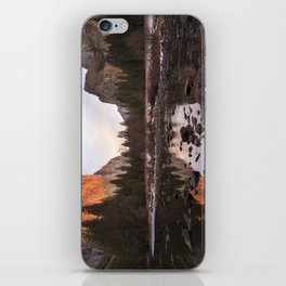 Yosemite - El Capitan & Merced River - Sunset in Winter iPhone Skin