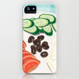 Fresh Home-cooked Turkish Breakfast iPhone Case